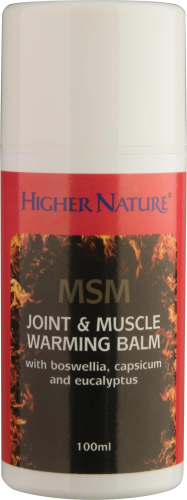 MSM Joint & Muscle Warming Balm 100ml