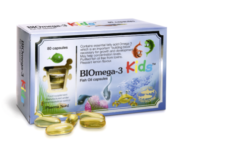 BIOmega-3 Kids - 1000mg 80 caps