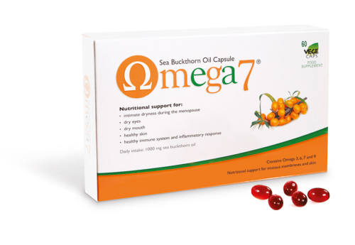 Omega 7 – Sea Buckthorn Oil - 60 caps