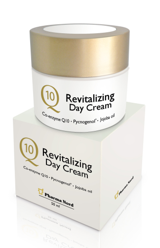 Q10 Revitalizing Day Cream – PARABEN FREE - (50ml)