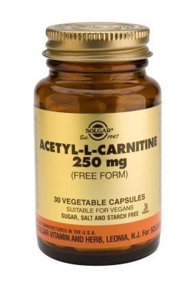 Acetyl L Carnitine 250mg 30 tabs