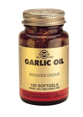 Garlic Oil Softgels (Reduced Odour): 100 caps