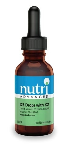 D3 Drops with K2 30ml